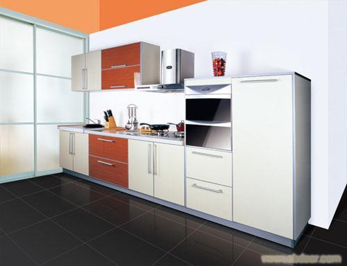 烤漆门板E1级三聚氢氨刨花板/橱柜图片