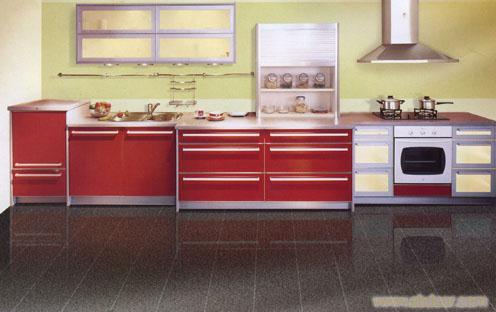 烤漆门板E1级爱格三聚氢氨刨花板-橱柜定做