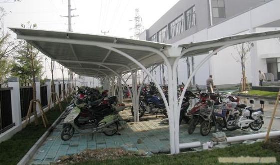 上海自行车棚设计制作
