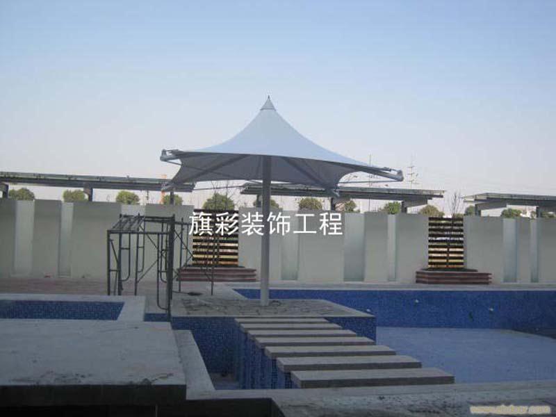 供应钢结构膜伞订做,膜伞制作,户外遮阳伞,户外遮阳膜伞订购制作,2012