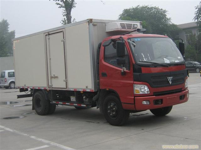 上海福田欧马克冷藏车价格68066339