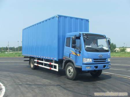 上海解放厢式运输车专卖-冷藏车价格