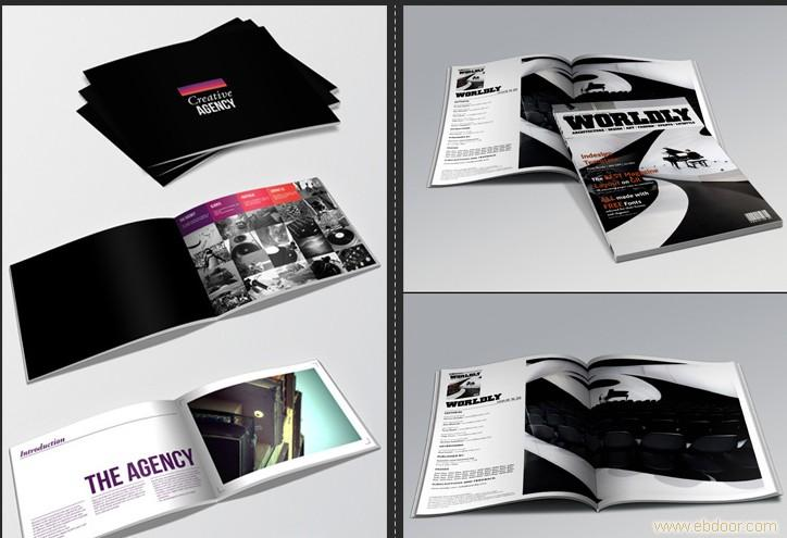 给上海鑫至诚广告有限公司的画册设计 广告宣传册设计图片
