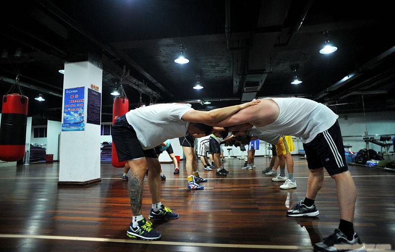 南京拳击训练