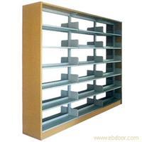 钢木单面书架-图书架定制-图书架定制厂家