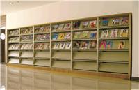 单面期刊架-图书室货架定做