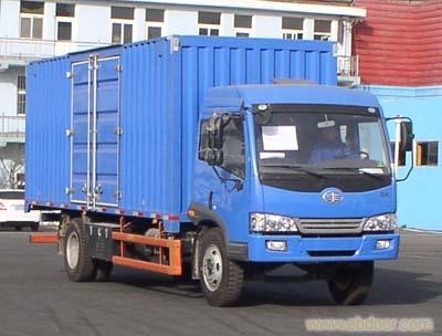 上海解放6.2米赛龙厢式运输车-68066339