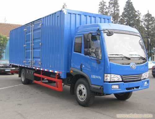 上海解放6.75米赛龙10版厢式车销售-68066339