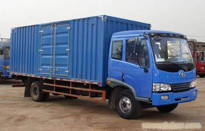 上海解放6.75米厢式运输车销售-68066339