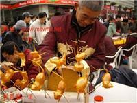 吹糖人__上海长宁区民俗文化.