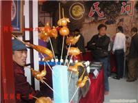吹糖人艺术__上海长宁区民俗文化