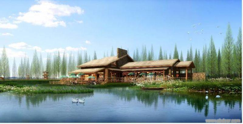 三岛休闲度假区-上海西沙一号生态园