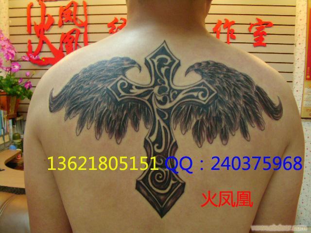 翅膀纹身_相关信息_火凤凰-上海专业纹身室/上海纹身