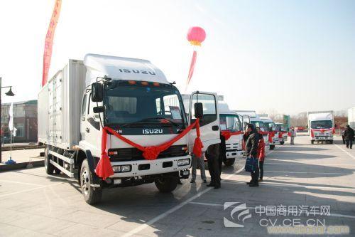 上海五十铃卡车紫畅最低报价