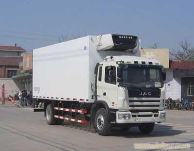江淮威铃7.5米冷藏车专卖  8.8T  HFC5162XLCK1R1T