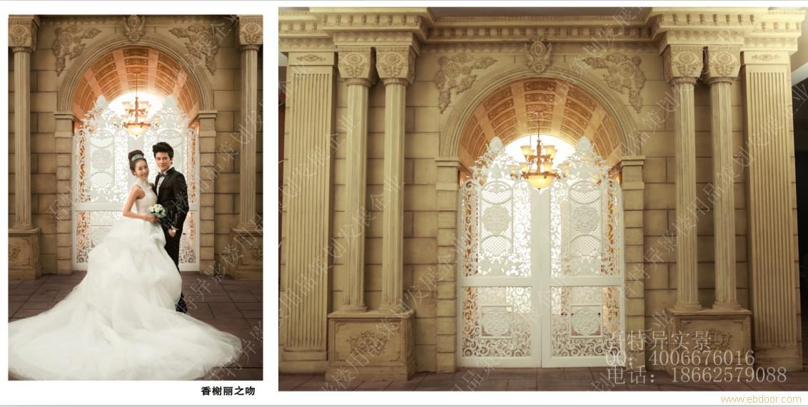 欧式橱窗设计 手绘