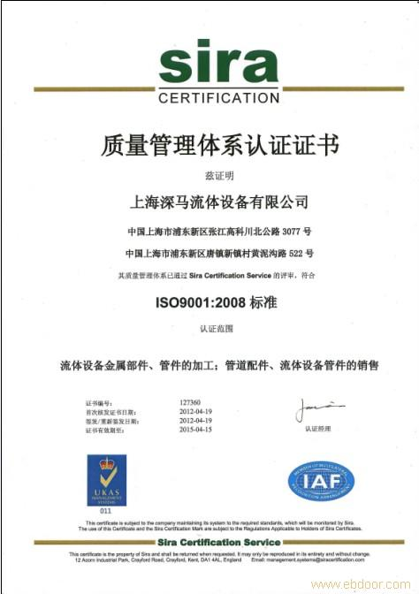 ISO9001 -2008