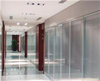 玻璃隔断定做设计-玻璃活动隔断