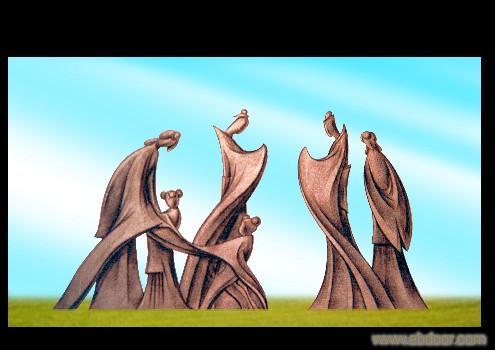 上海景观雕塑设计案例4