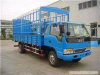江淮牌HFC5091CCYK3R1T仓栅式运输车、上海运输车紫运报价、上海仓栅车销售