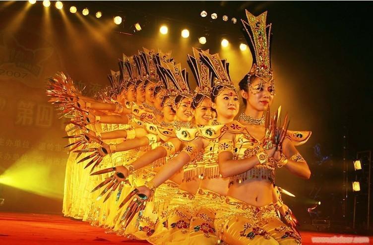 千手观音舞蹈_上海民间艺术表演