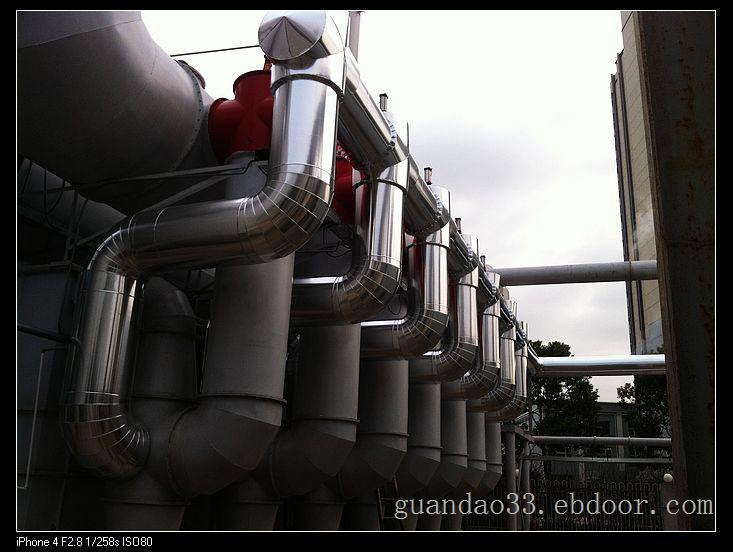 导热油管道保温
