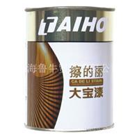 上海大宝漆代理批发专卖--大宝漆0.5KG着色擦得丽01号--O8号色