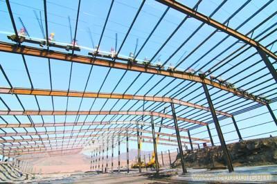 上海钢结构_钢结构雨棚