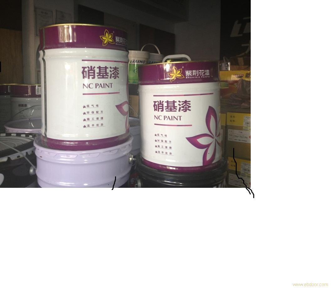 上海油漆涂料团购批发--紫荆花10KG硝基稀释剂