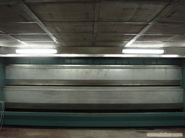 水帘式喷漆房结构图