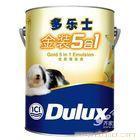 上海我乐士漆价格|上海多乐士乳胶漆批发团购价--多乐士金装5L五合一乳胶漆