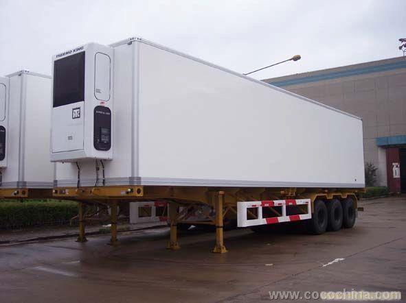 集装箱运输半挂车销售/上海挂板专卖/上海挂板报价—13301660505