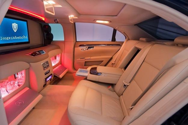 奔驰S550钻石版