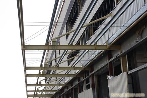 上海钢结构玻璃雨棚搭建安装