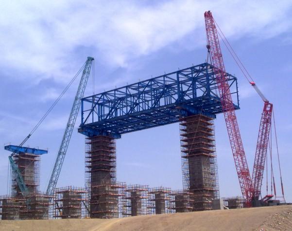 钢结构施工吊装方案-专业承接钢结构吊装工程