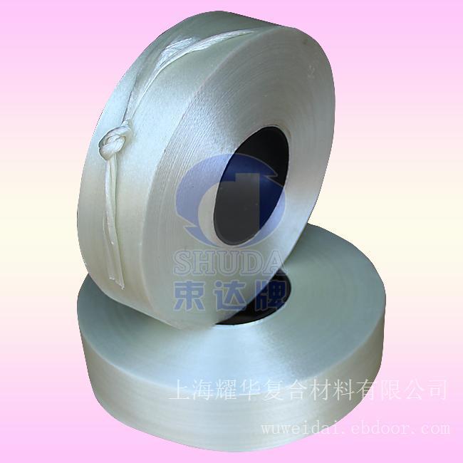 60MM_H级网状无纬带_H200-W(2861-W)聚酯树脂浸渍玻璃钎维网状无纬绑扎带