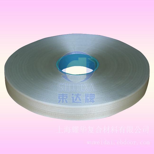 30MM_H级网状无纬带_H200-W聚酯树脂浸渍玻璃钎维网状无纬绑扎带