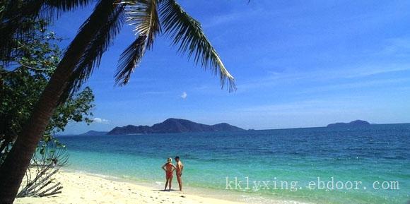 泰国珍珠珊瑚岛