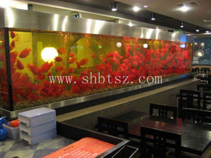 亚克力鱼缸订做/上海大型鱼缸制作公司/上海鱼缸定做/订做鱼缸