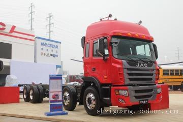 江淮 新格尔发重卡 270马力 8X4 载货车