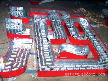 温州铁皮发光字制作