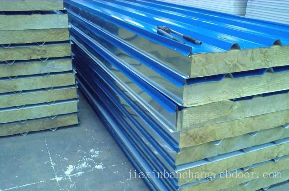 岩棉夹芯板-岩棉夹芯板厂-上海岩棉夹芯板厂家