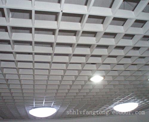 铝格栅天花板