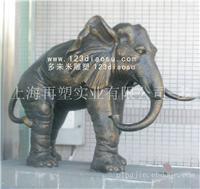 玻璃钢仿铜吉祥兽雕塑大象_上海玻璃钢仿铜吉祥兽雕塑咨询
