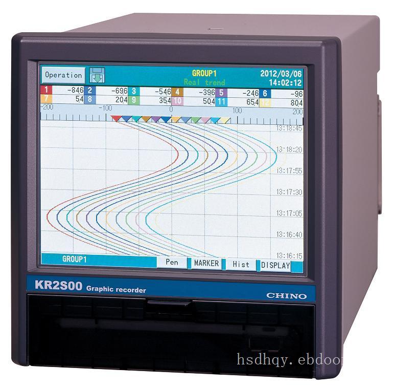 KR2S系列图形记录仪
