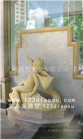 艺术砂岩人物小品雕塑-上海艺术砂岩人物小品雕塑