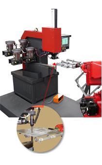 压铆机器人解决方案-压铆机机器人集成客户化的全自动解决方案
