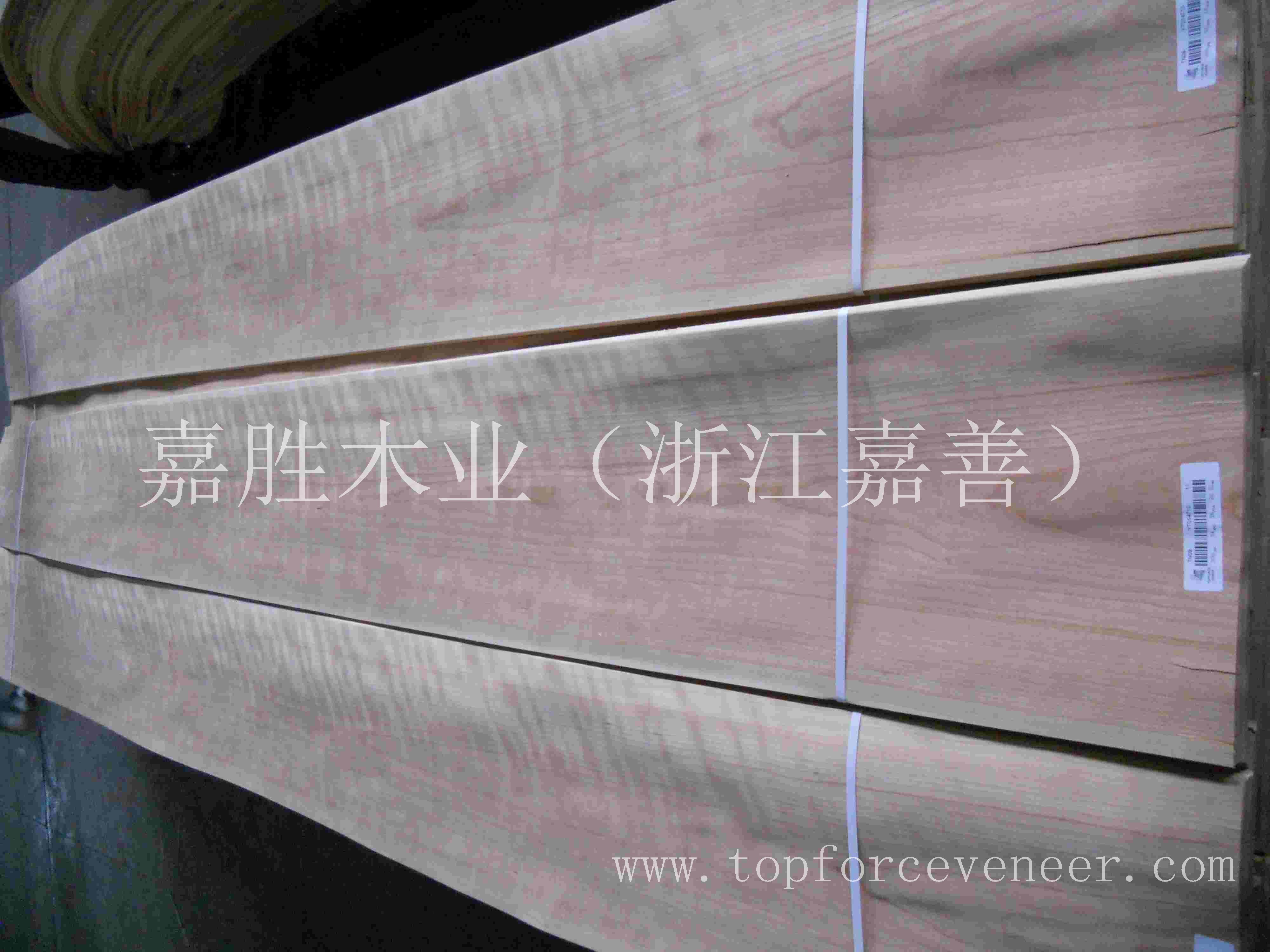 浙江嘉善美国樱桃带影排骨影水波影木皮-ZheJiang JiaShan American Black Cherry Veneer Fiddle Back Figur