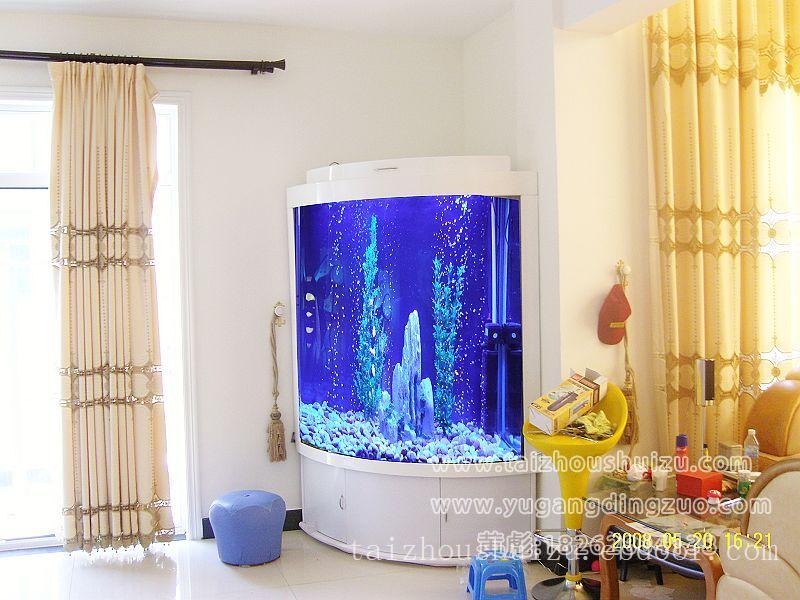 泰州鱼缸定做,大型鱼缸定做