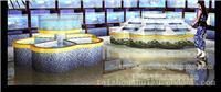 泰州酒店鱼缸定做,定做海鲜鱼缸